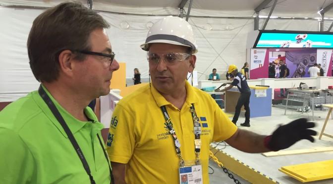 Erik Hellqvist: Sverige ökar säkerheten – i hela världen